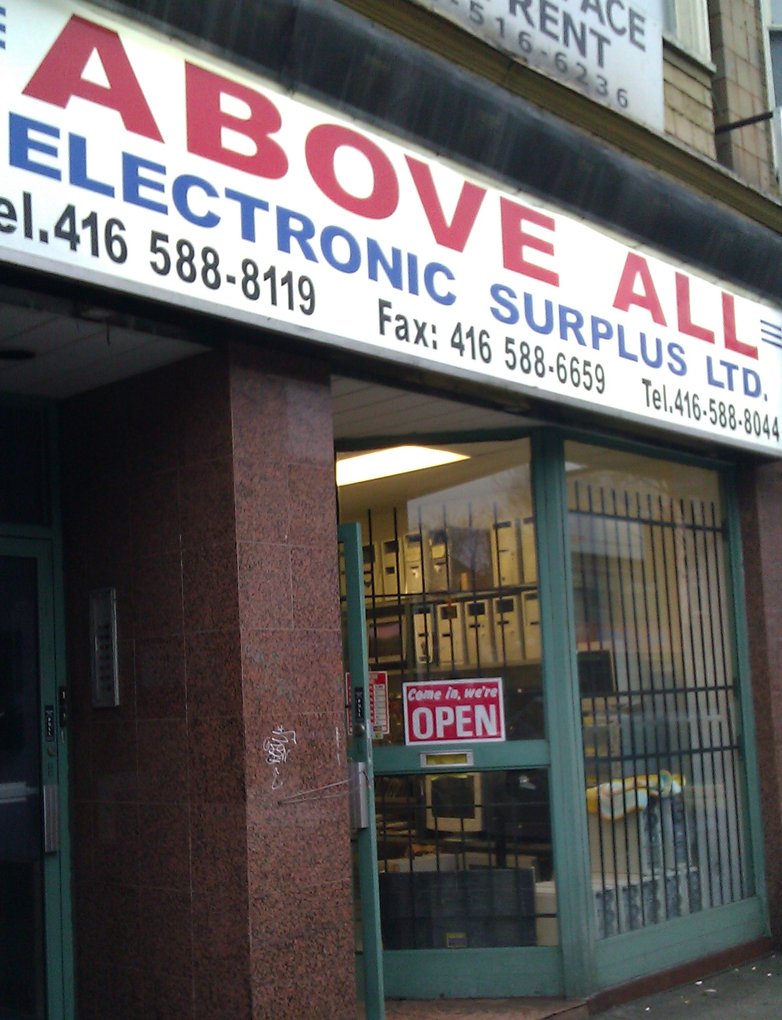 Above All Electronic Surplus | West Annex News