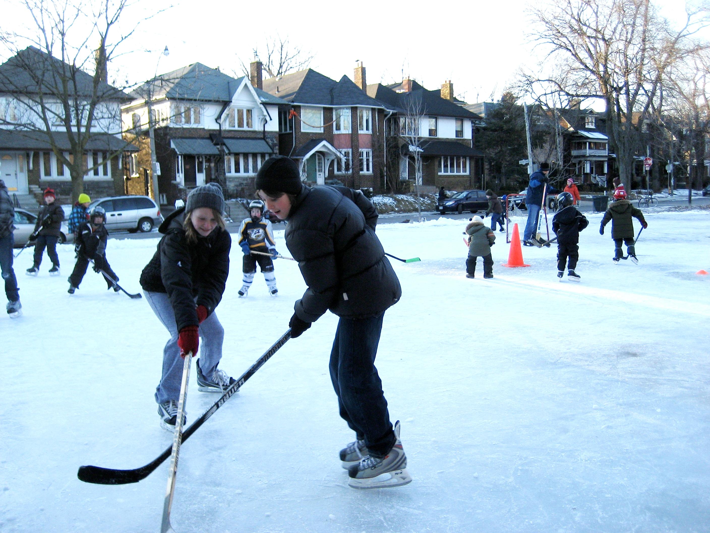 Ice Arenas In Toronto Sibelius Square Skating Rink February