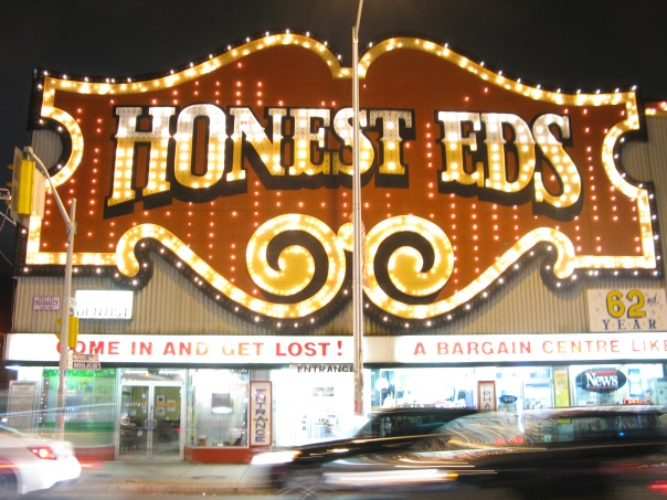 The Honest Ed's sign has had its day and has to go according to Ed' GM Russell Lazar