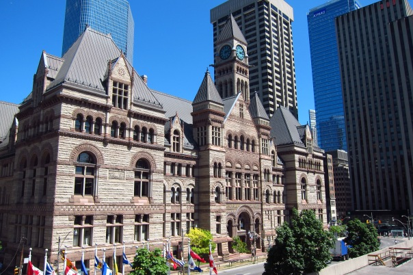 Old City Hall, one of only two building worthy of preservation according the Frank Gehry