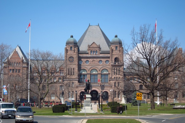 The heritage view of Queen' Park has been protected by an Official Plan Amendment