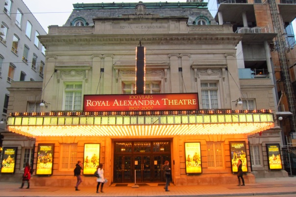 The Royal Alexandra Theatre, built 1907, at 260 King Street West Toronto