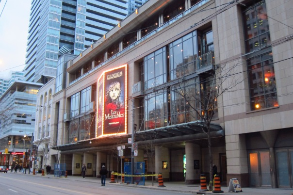 The Princess of Wales Theatre, 1993, 300 King Street West, Toronto